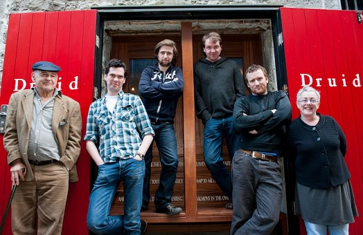 DruidMurphy cast with Tom Murphy and Garry Hynes